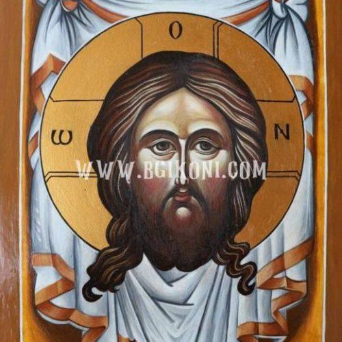 "Икона на Исус Христос ""Убрус"""