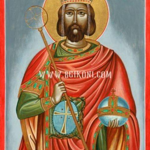 Икона на Свети Цар Борис