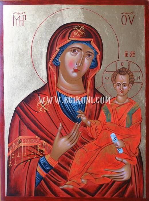 "Икона на Света Богородица ""Пътеводителка"""