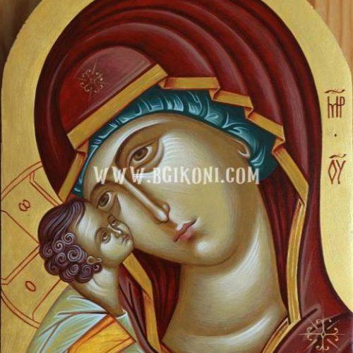 "Икона на Света Богородица ""Умиление"""