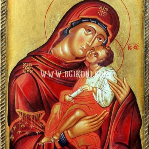 "Репродукция икона Пресвета Богородица ""Елеуса"""