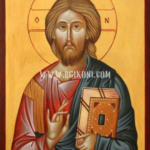 "Репродукция икона на Исус Христос ""Пантократор"""