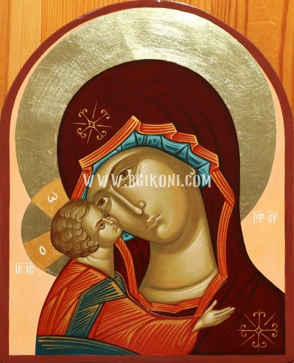 "Икона Света Богородица ""Умиление"""