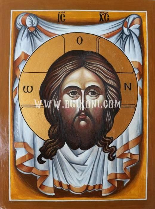 """Репродукция икона на Исус Христос """"Убрус"""""""