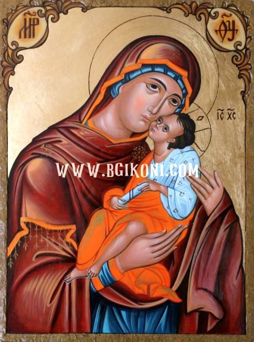 "Репродукция икона Света Богородица ""Елеуса"""
