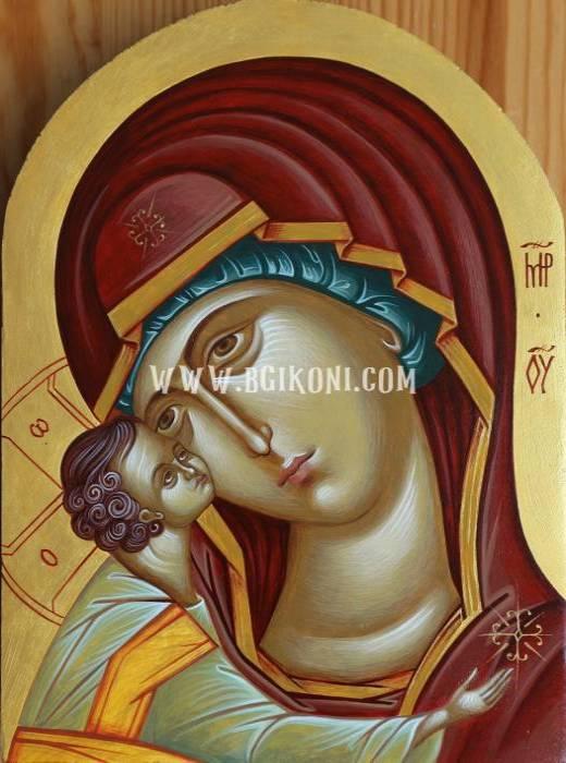 """Репродукция икона Света Богородица """"Умиление"""""""