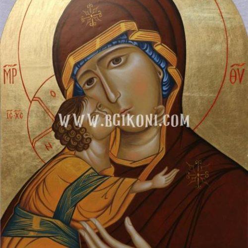 Репродукция икона Света Богородица с Младенеца