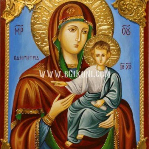 """Репродукция икона Света Богородица """"Одигитрия"""""""