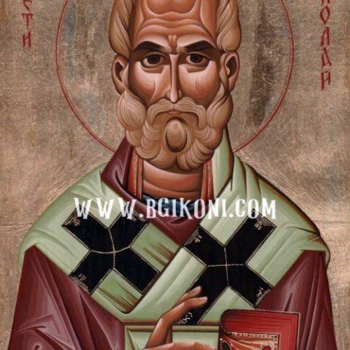 Репродукция икона на Свети Николай Чудотворец
