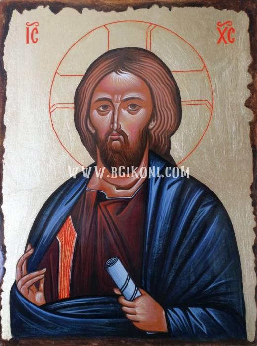 """Репродукция икона на Исус Христос """"Благославящ"""""""
