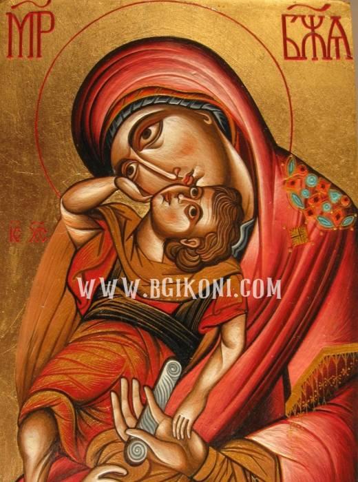 """Репродукция икона Света Богородица """"Преблагодатна"""""""