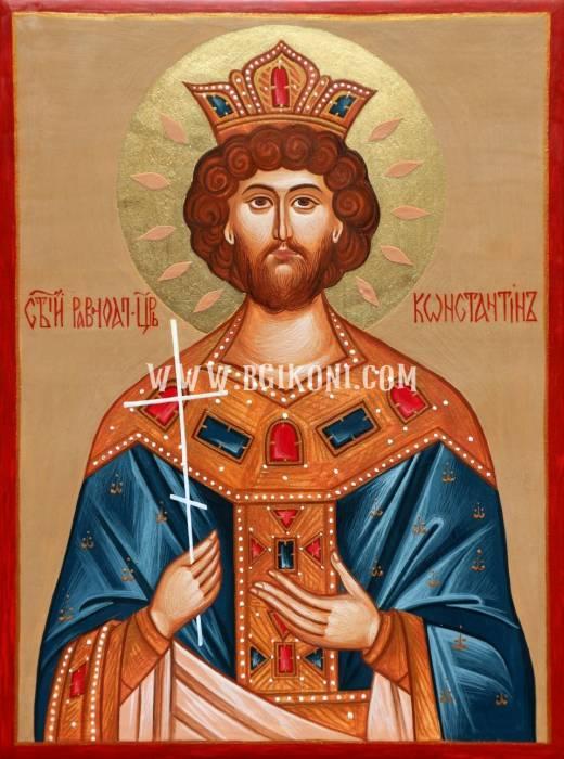 Икона на Свети Константин