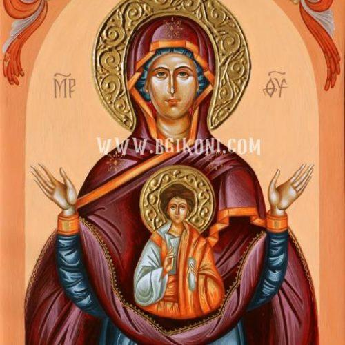 """Икона на Света Богородица """"Знамение"""""""