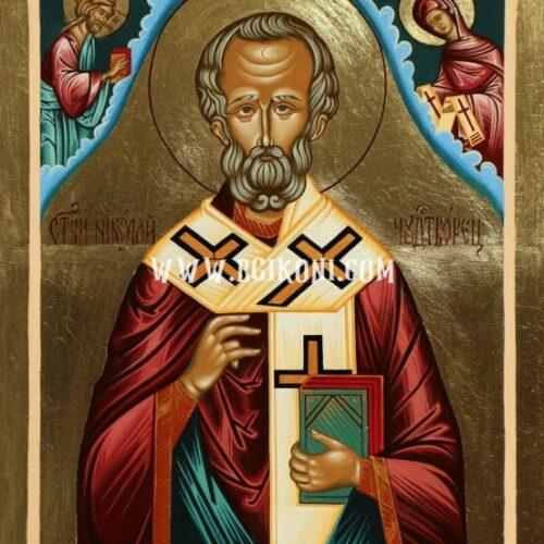 Икона на Св Николай Чудотворец